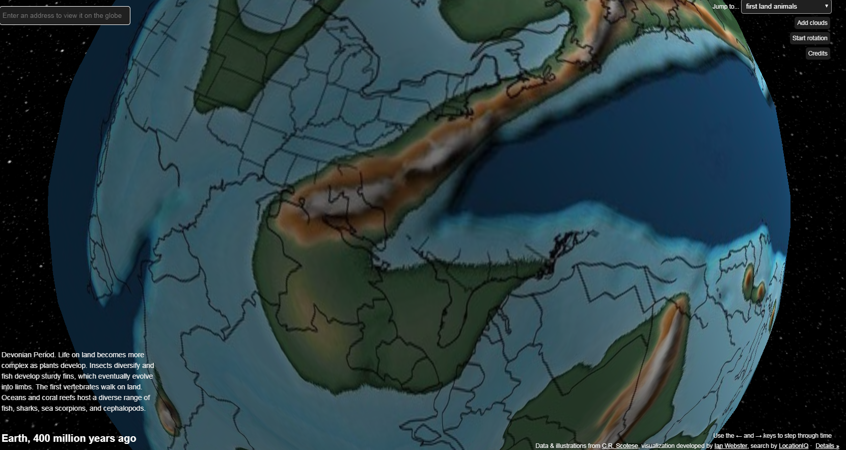 The South Atlantic millions of years ago – South Atlantic